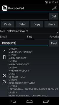 Unicode Pad imagem de tela 5