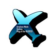 BLOCCO Airplane Mode plug-in icon