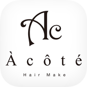 江別市の美容室 Hair Make A cote icon