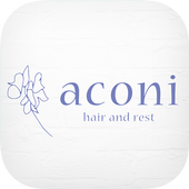 aconi hair and rest 公式アプリ icon