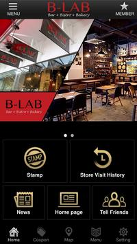 B-LAB Bar+Bistro+Bakery poster