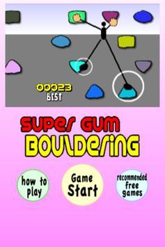 Super Bouldering poster