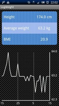 Log Weight apk screenshot