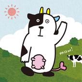 福島県鏡石町公式アプリ『モ〜ッと牧場のあーさー♪』 icon