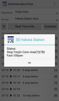 NishitetsuBusTime screenshot 1