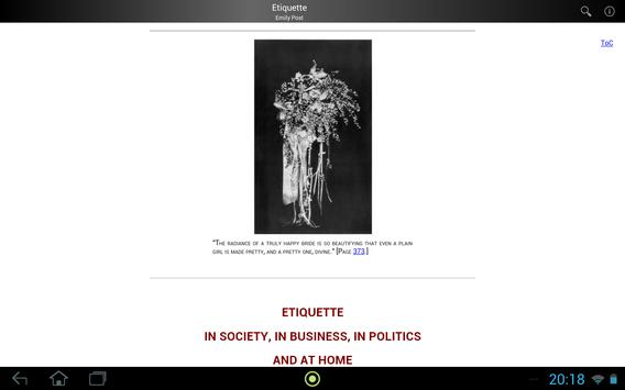 Etiquette apk screenshot