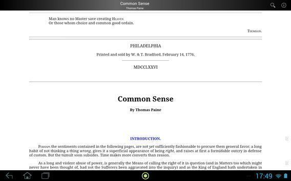 Common Sense screenshot 3