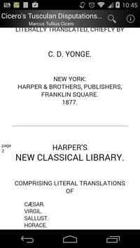 Cicero's Tusculan Disputations screenshot 1