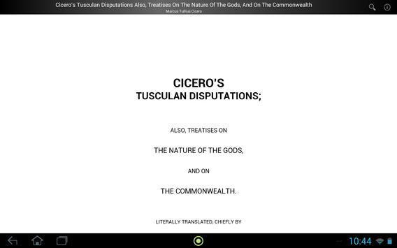 Cicero's Tusculan Disputations screenshot 2