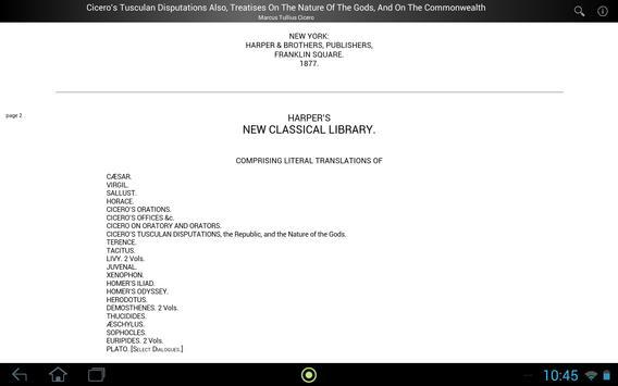 Cicero's Tusculan Disputations screenshot 3