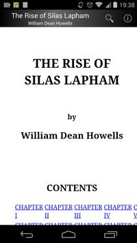 The Rise of Silas Lapham poster