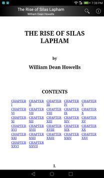 The Rise of Silas Lapham apk screenshot