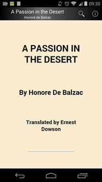 A Passion in the Desert poster