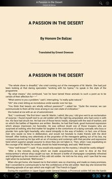 A Passion in the Desert screenshot 2