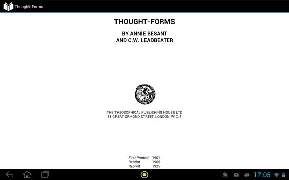 Thought-Forms apk screenshot