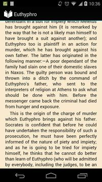 Euthyphro by Plato screenshot 1