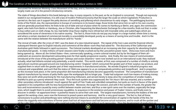 Condition of the Working-Class in England in 1844 screenshot 3