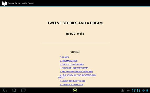 Twelve Stories and a Dream apk screenshot