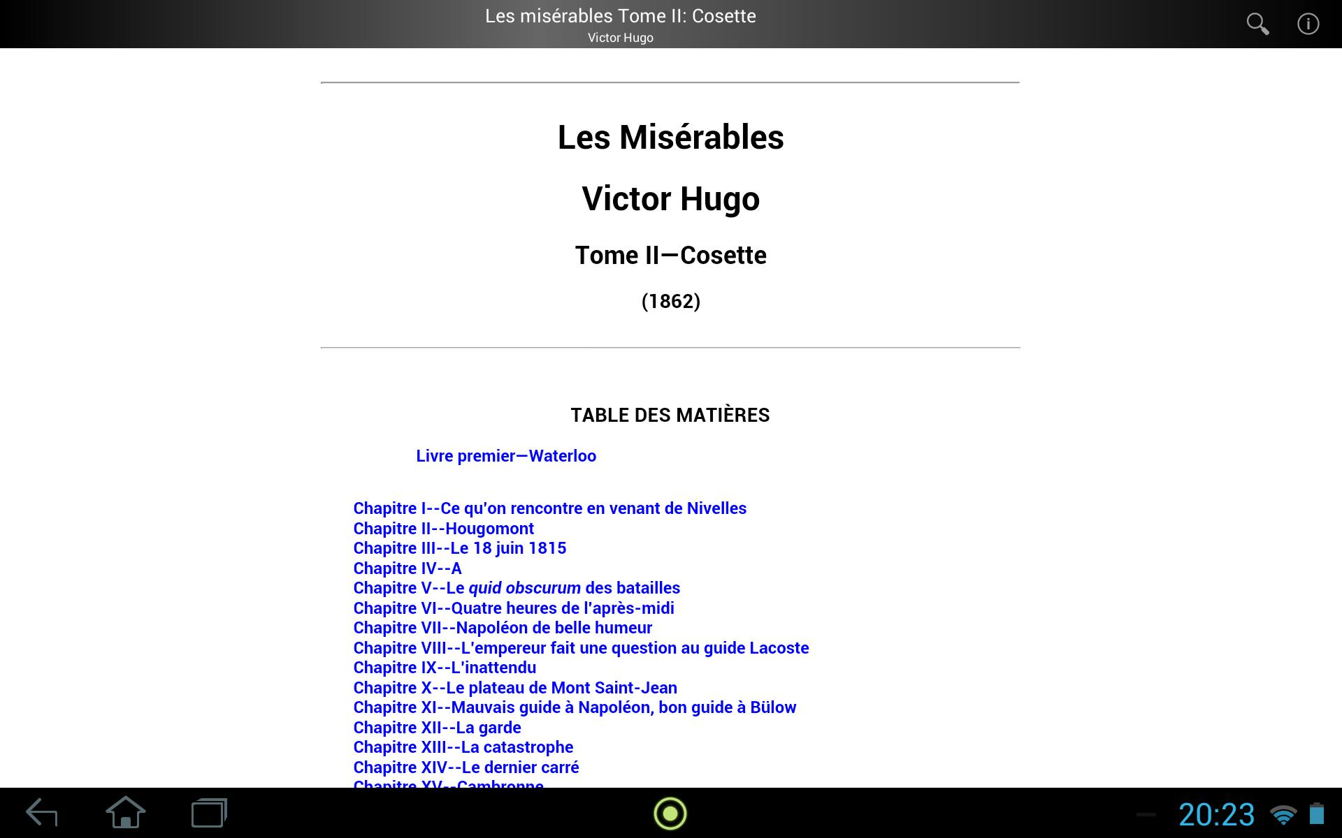Les Miserables Tome 2 For Android Apk Download