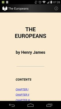 The Europeans poster