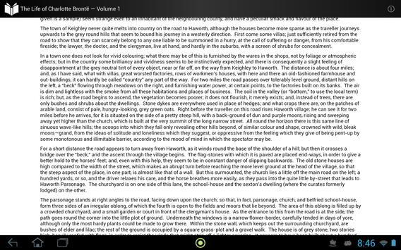 The Life of Charlotte Brontë 1 apk screenshot