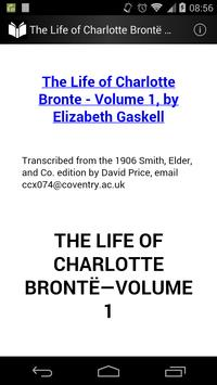 The Life of Charlotte Brontë 1 poster