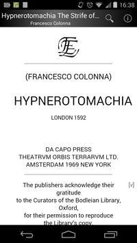Hypnerotomachia screenshot 1