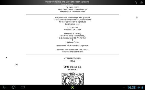 Hypnerotomachia screenshot 3