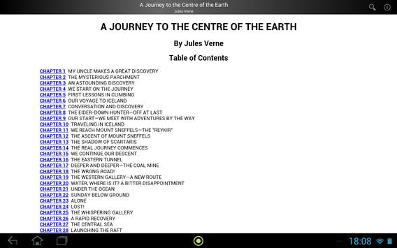 Journey to Centre of the Earth apk screenshot