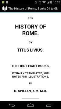 The History of Rome poster