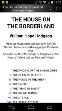 The House on the Borderland poster