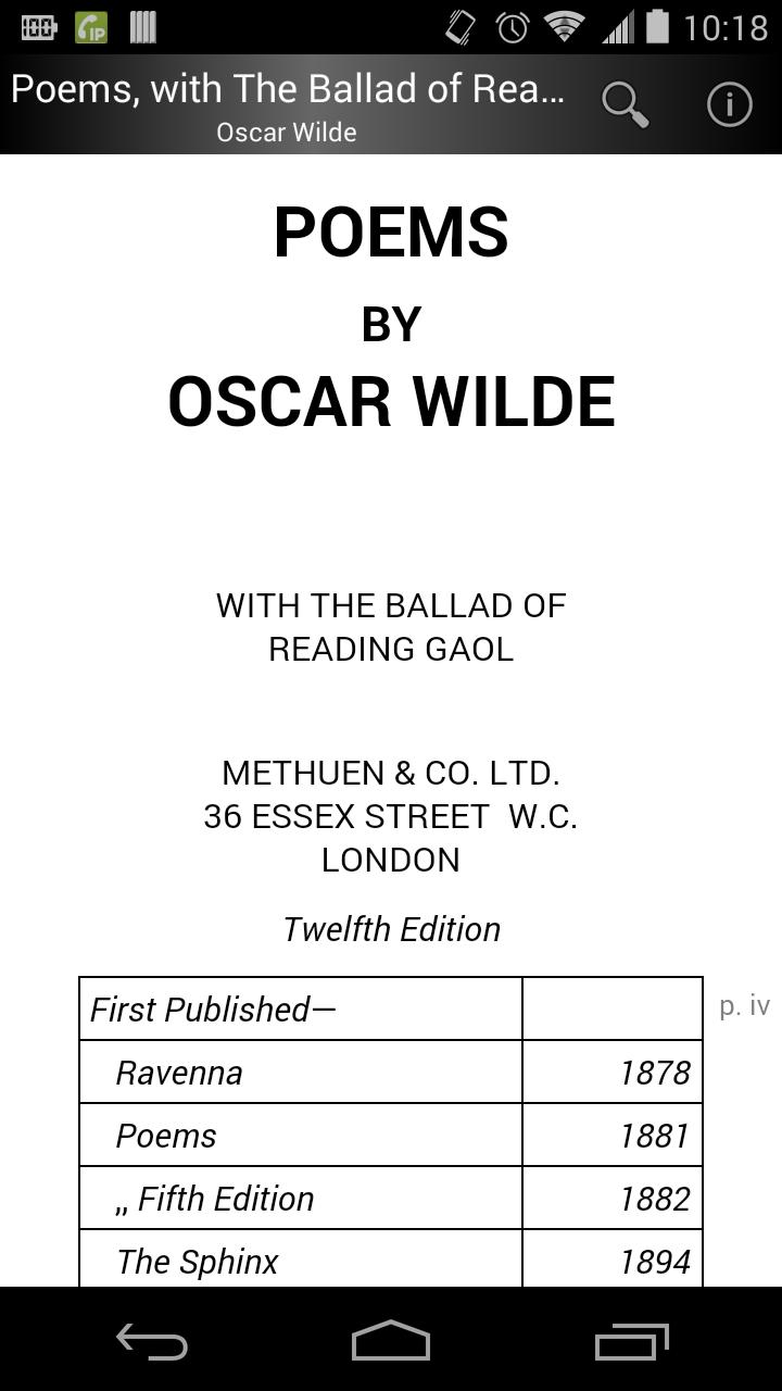 Poems By Oscar Wilde For Android Apk Download
