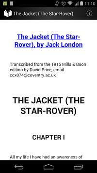 The Jacket (The Star-Rover) poster
