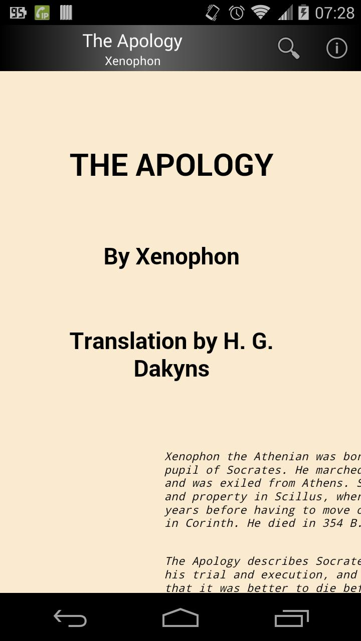 The Apology poster