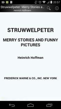 Struwwelpeter (English) poster