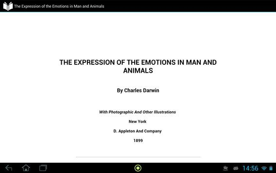 Emotions in Man and Animals apk screenshot
