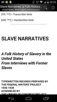 Slave Narratives 3 poster