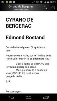 Cyrano de Bergerac (Français) poster