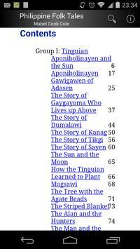 Philippine Folk Tales screenshot 1