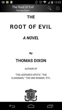 The Root of Evil poster