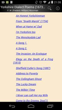 Yorkshire Dialect Poems screenshot 1