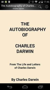 Charles Darwin Autobiography poster