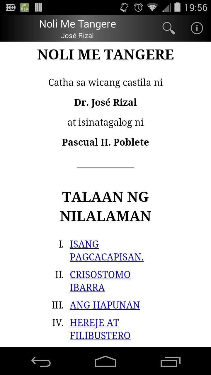 noli me tangere tagalog download