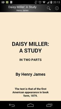 Daisy Miller: A Study poster