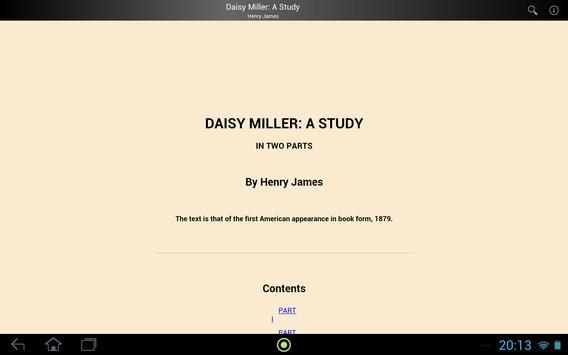 Daisy Miller: A Study screenshot 2