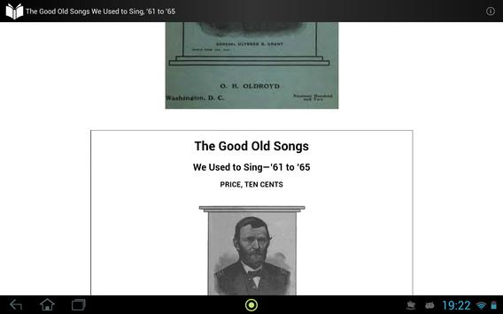 The Good Old Songs in 1860s apk screenshot