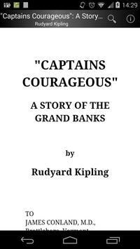 """Captains Courageous"" poster"