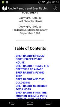Uncle Remus and Brer Rabbit screenshot 1
