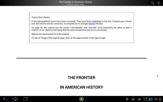 Frontier in American History screenshot 2