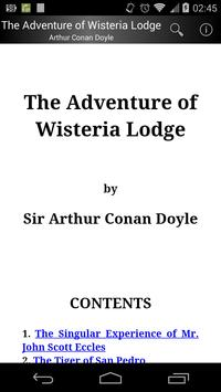 The Adventure of Wisteria Lodge poster